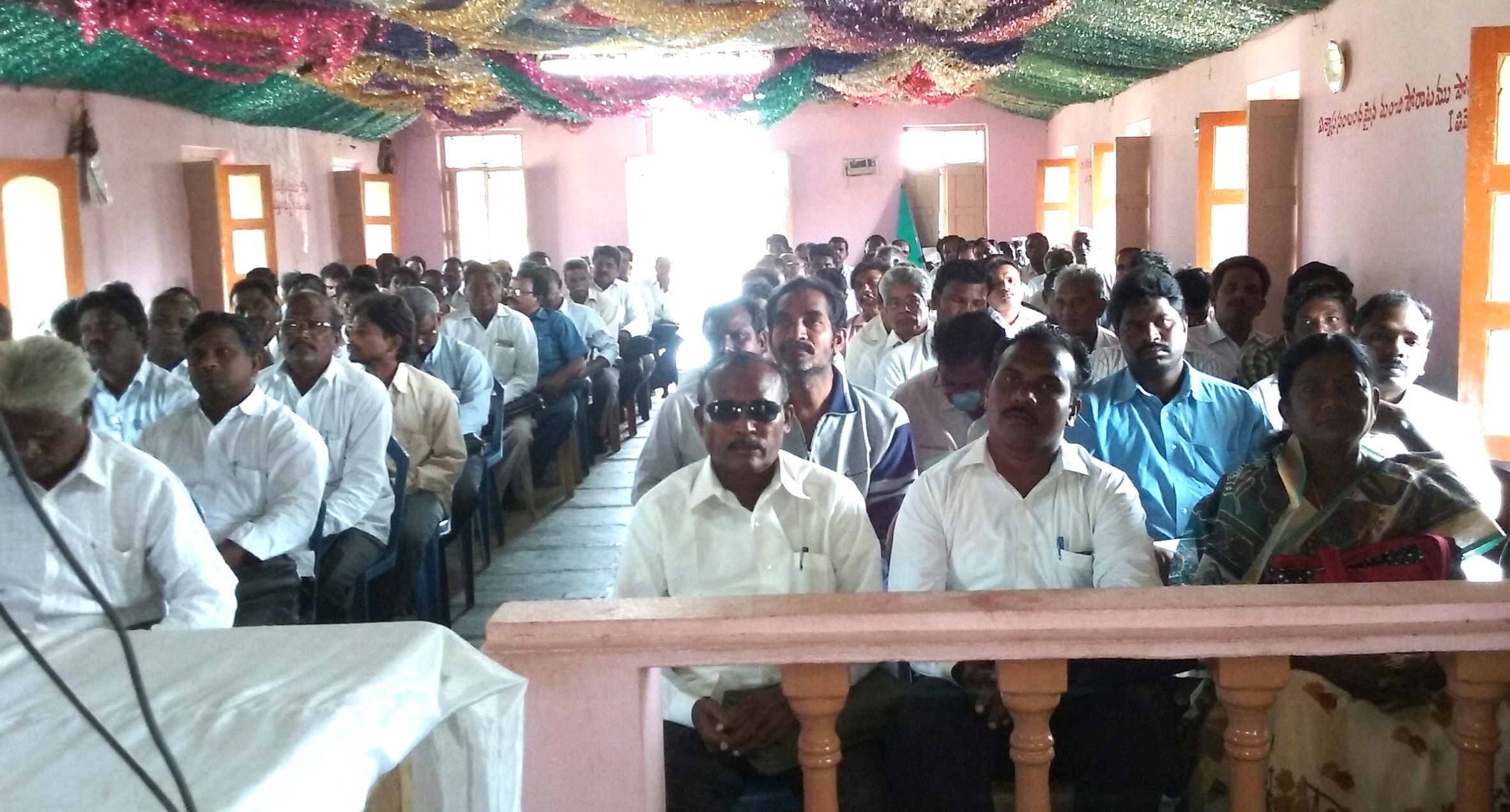 Crusade planning meeting in South Asia