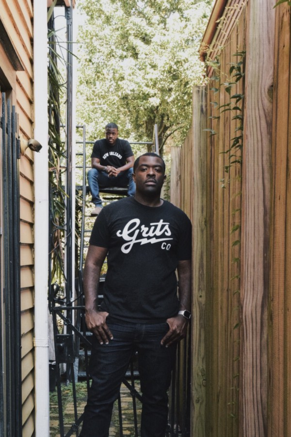 Homage CEO and Co-Founder Damon Lawrence (right) along with Homage President and Co-Founder Marcus Carey (left) led the design direction for The Freeman, located in the Tremé-Lafitte neighborhood of New Orleans,LA