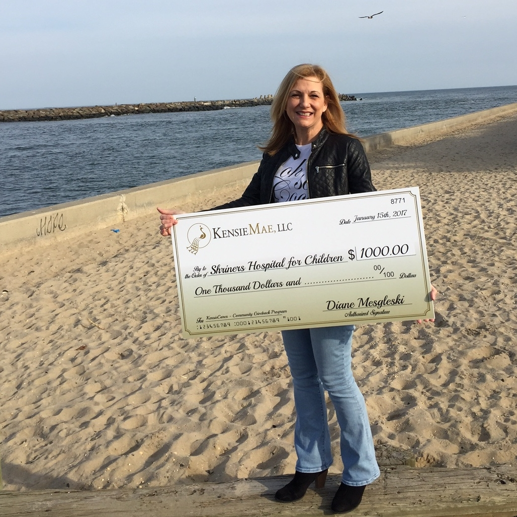 IDS Projects Manager Diane Mesgleski spreading hope from the Jersey Shore