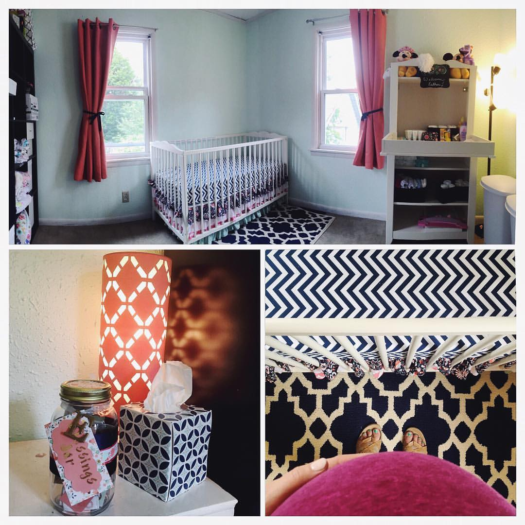Esther's nursery ready for her arrival!