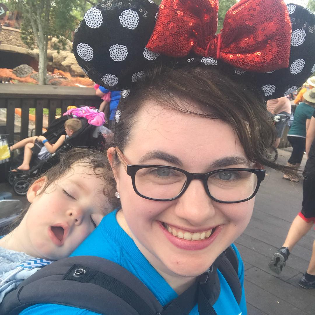 Tired at Disney!