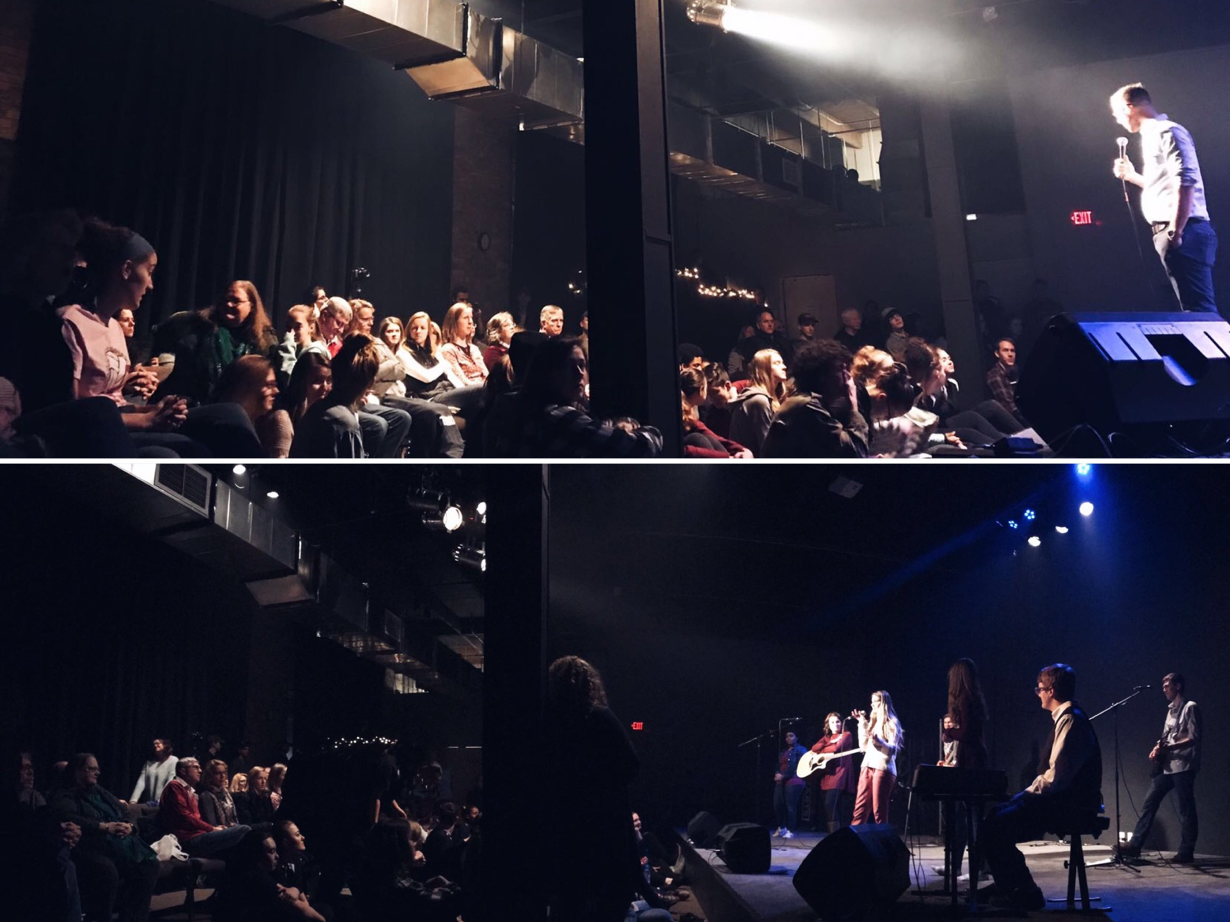 WorshipArts Apex in the new building, Dec 2018