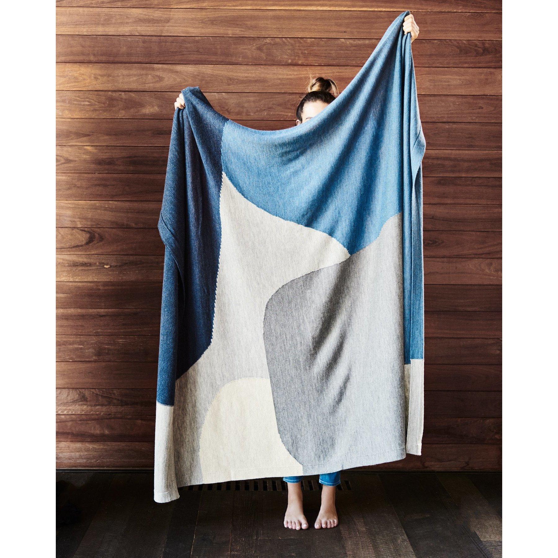 Throw Rug Wool Manon Bis Melbourne
