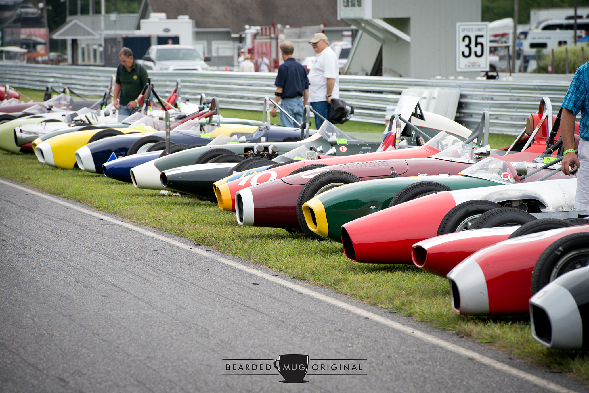 The featured Formula Juniors were a captivating bunch, both off and on the track.