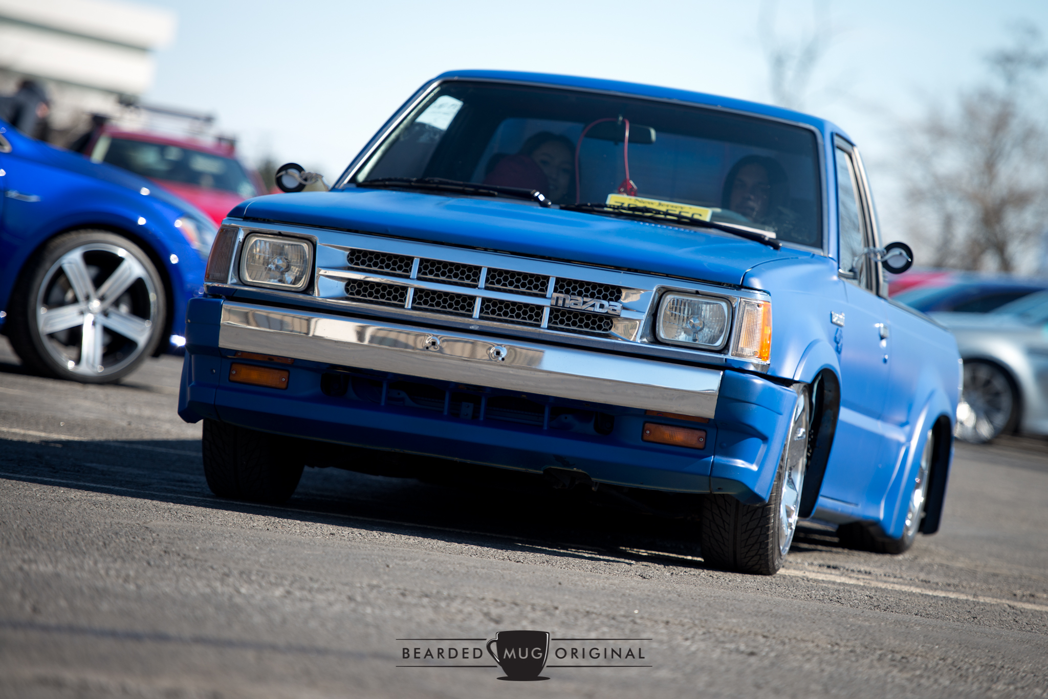This mini truckin' Mazda could hit switches with the best of them, whether it's laying frame or tail draggin'.