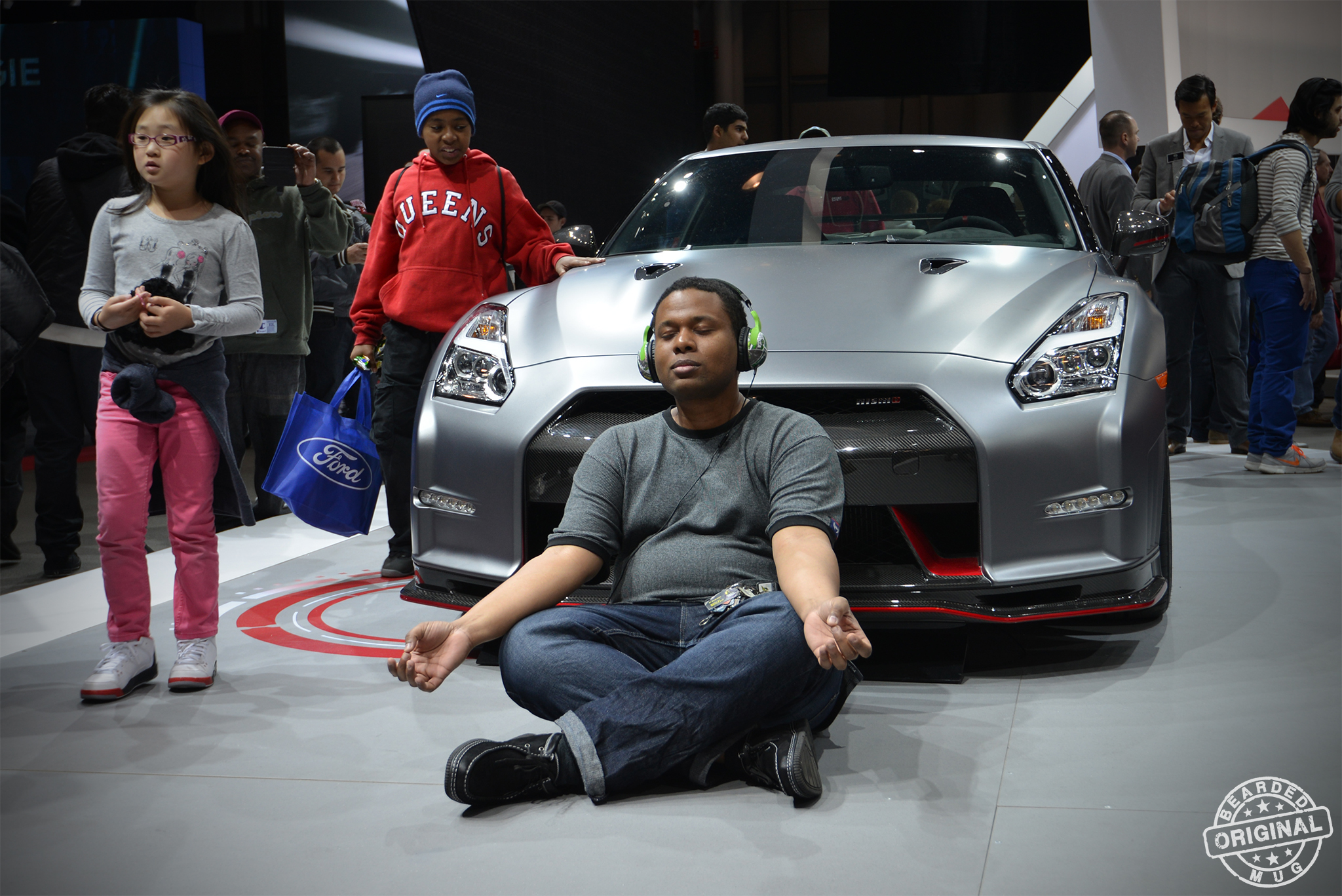 Although I enjoy taking candid photos at car events, I'm not going to miss any GT-R Buddha recreations this year.