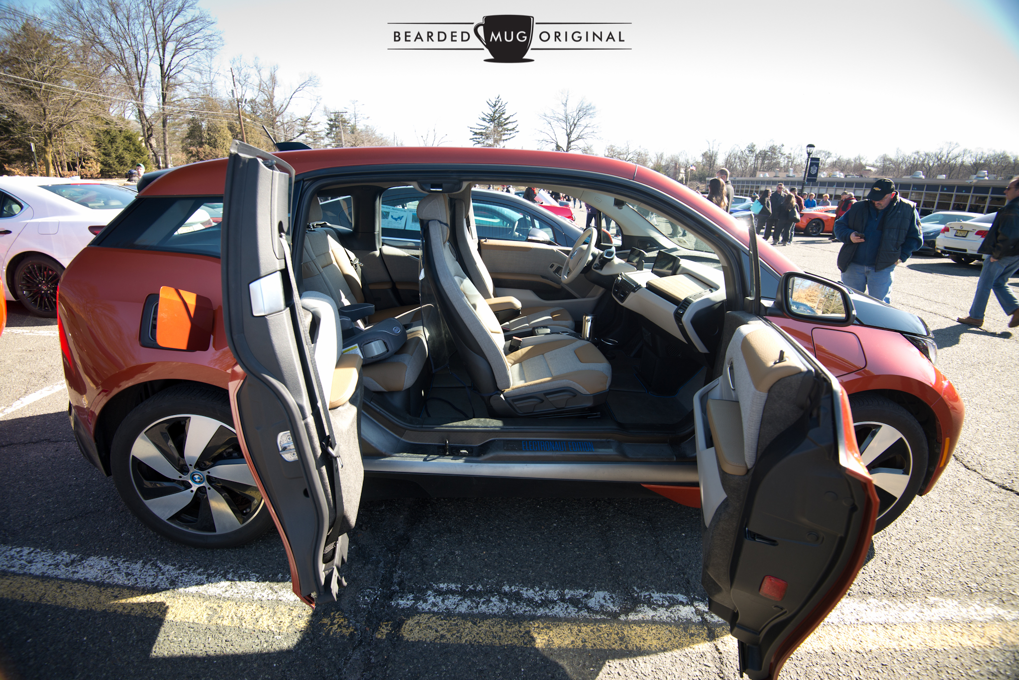 Chris always has an open door policy fortalking about his i3.