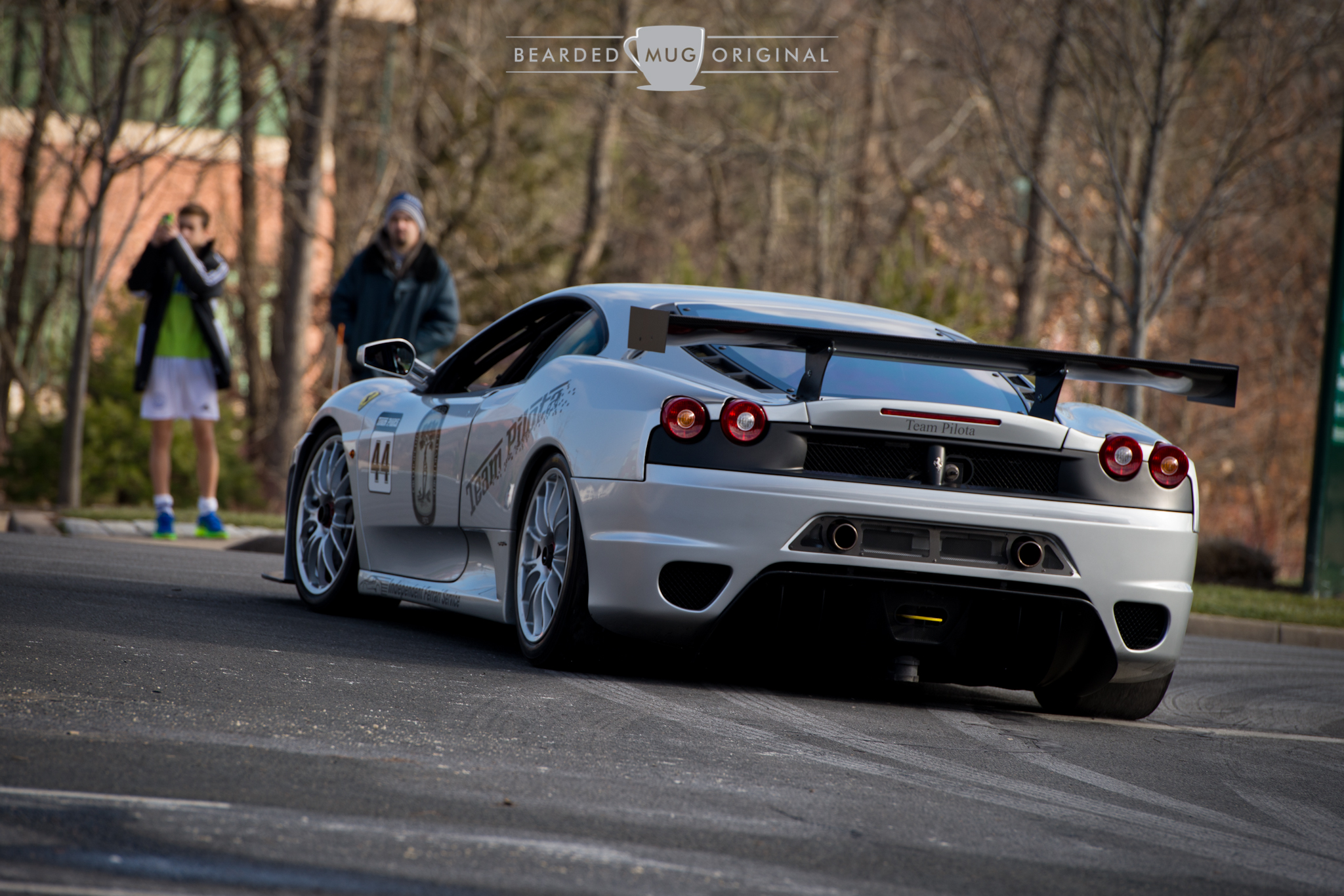 Ferrari F430 Challenge should be parked on LaSalle road, ready to thrill the lucky kid who gets a ride in the racecar.