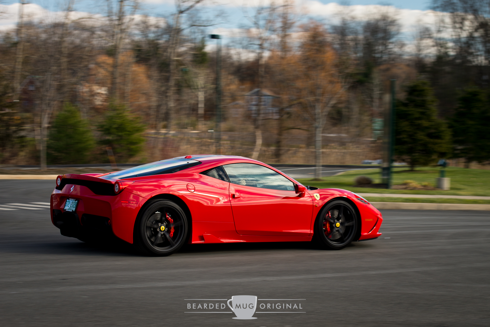 Ferrari 458 Speciale is a wolf in sheep's Rosso Corso clothing.