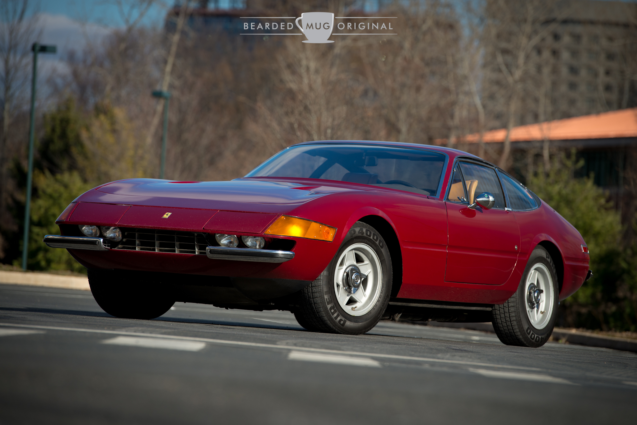 Can you argue with the iconic wedge shape of the 365 GTB/4?