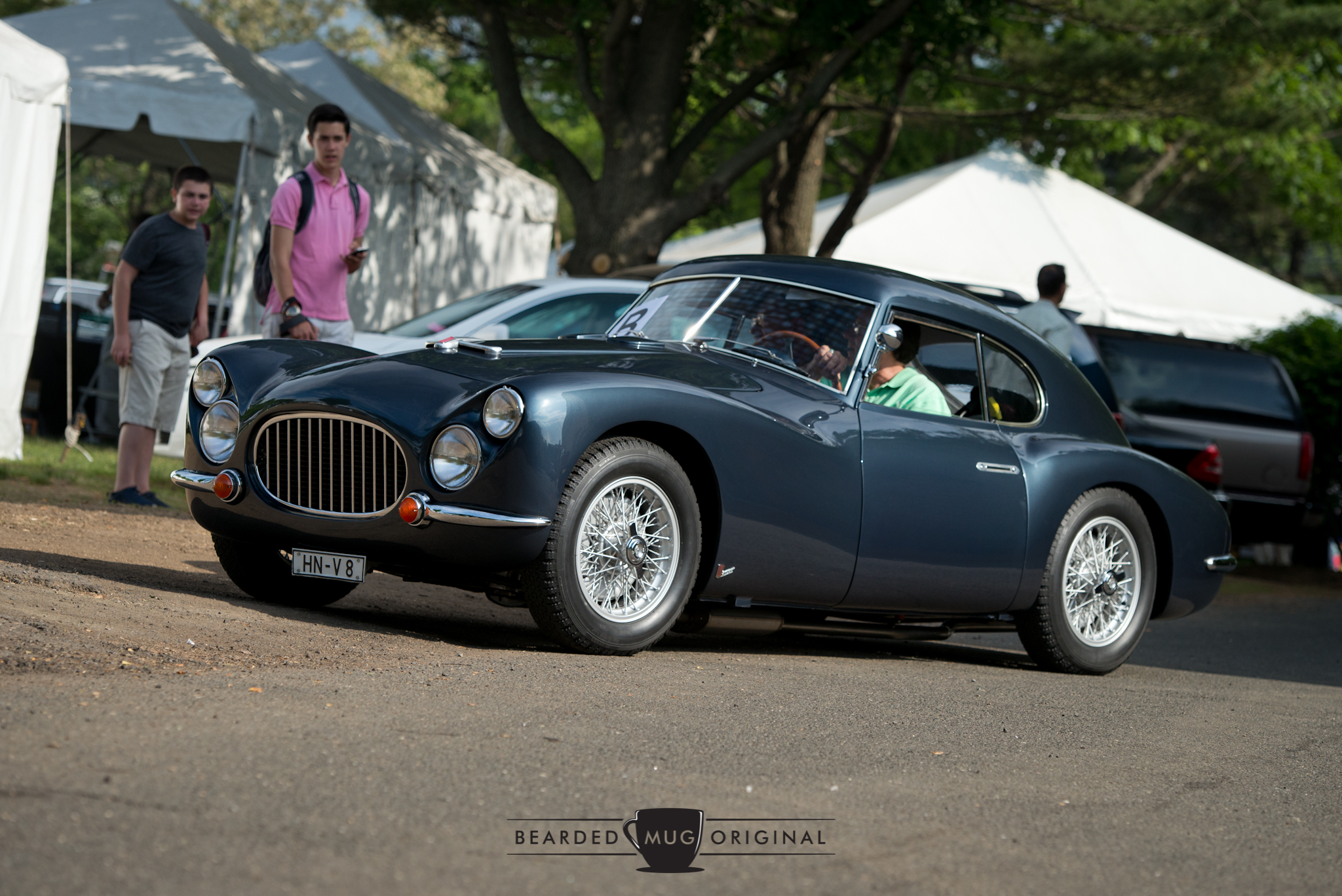 "According to my research, this 1953 Fiat 8V 'Otto Vu"" Berlinetta is 1 of 34 and sports a 2L V8 under that sculpted hood. The bodywork was done in-house, as opposed to being outsourced to  carrozzerias  such as Pinin Farina or Zagato."