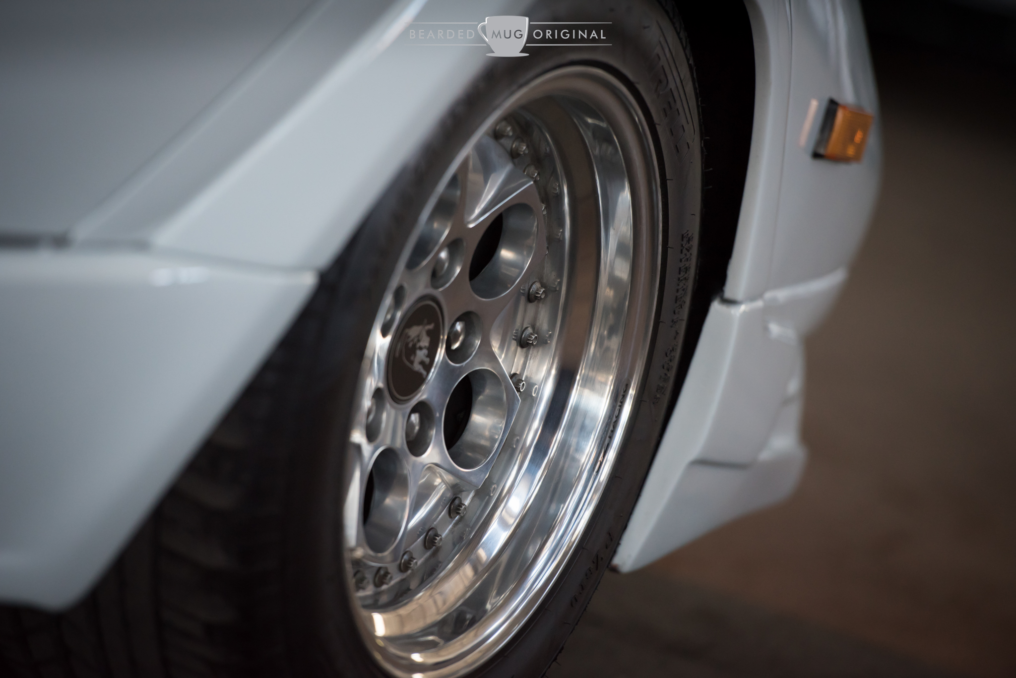 This wheel, along with three others just like it as well as the car they come with, can be all yours for the paltry sum of a cool half mil.