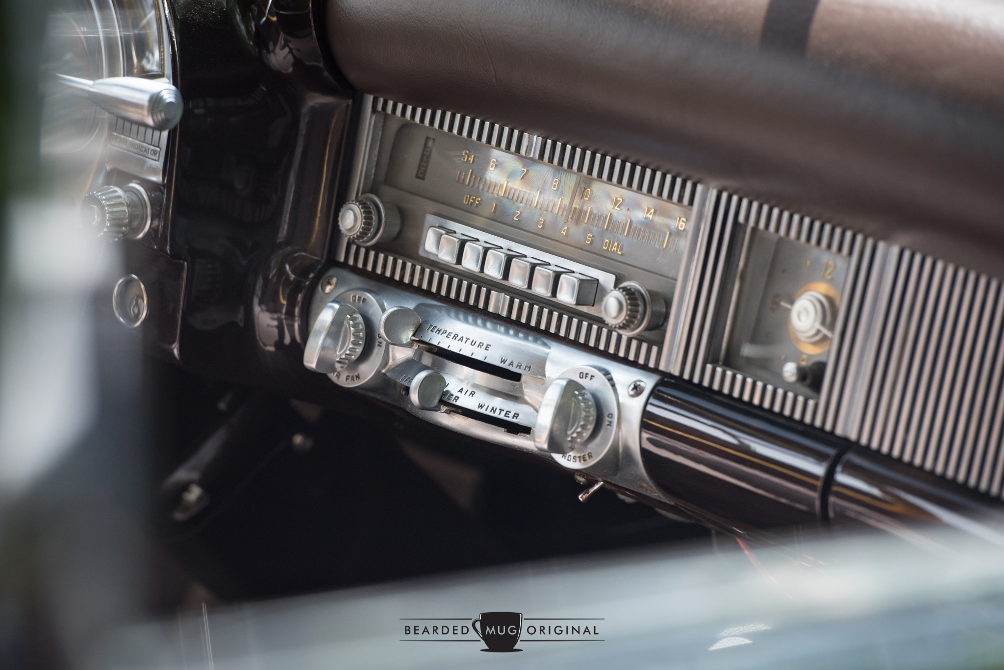 The interior of the 1951 Chrysler Crown Imperial 8-Passenger Sedan can spark enough interest to get lost on the Internet researching Imperials for hours.