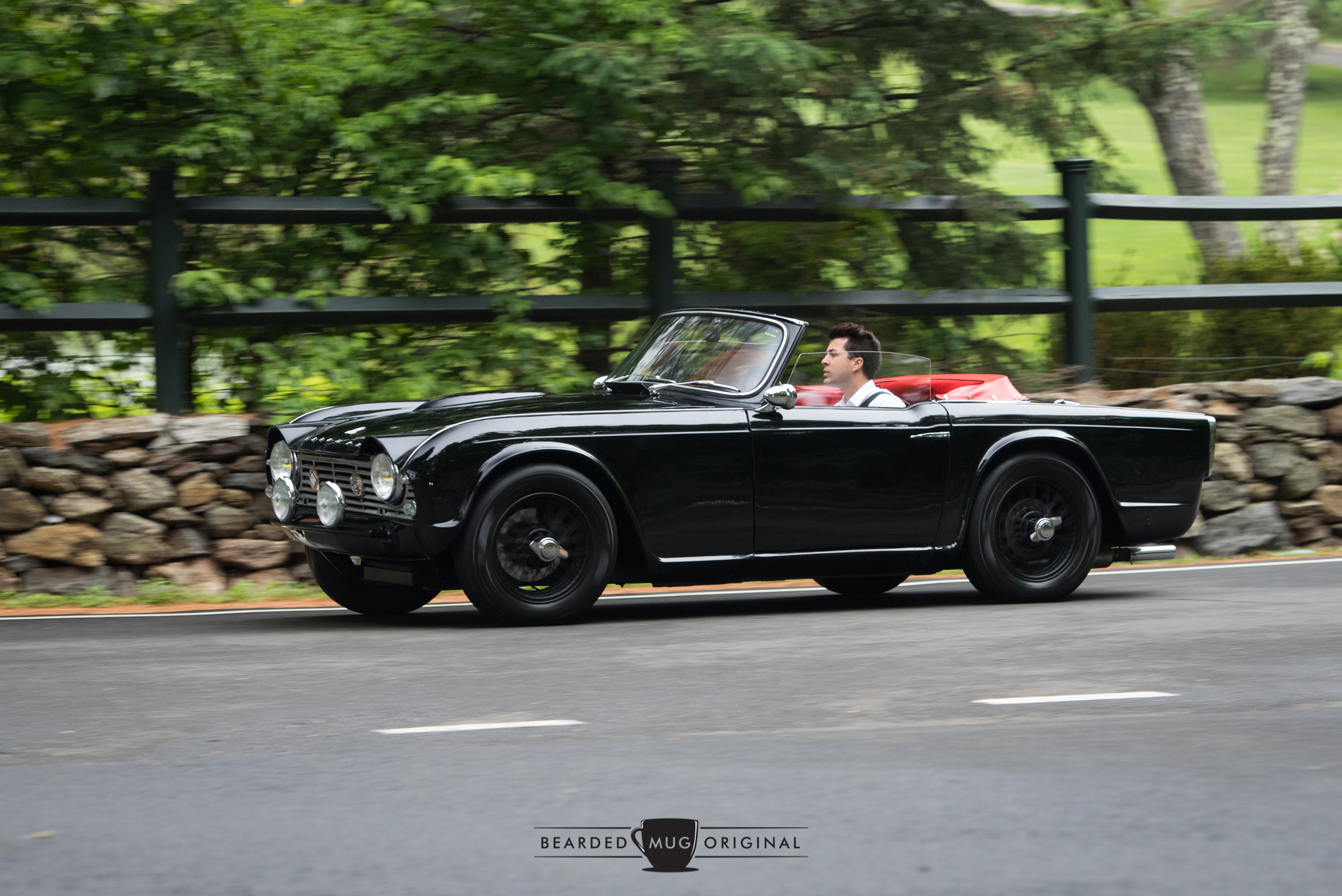 The TR4 of Thomas Hale was my tour companion for the final legs, its carbureted engine struggling to keep up with the fuel-injected fury that was found under the hood of my rental Versa Note.