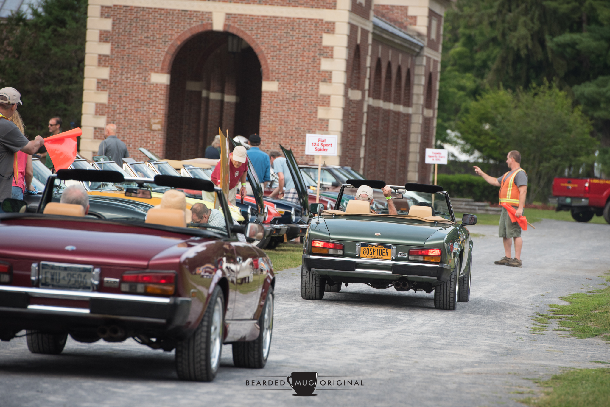 The Fiat 124 Sport Spider was also a featured class, bringing in nearly 30 arachnids from all over the northeast and beyond!