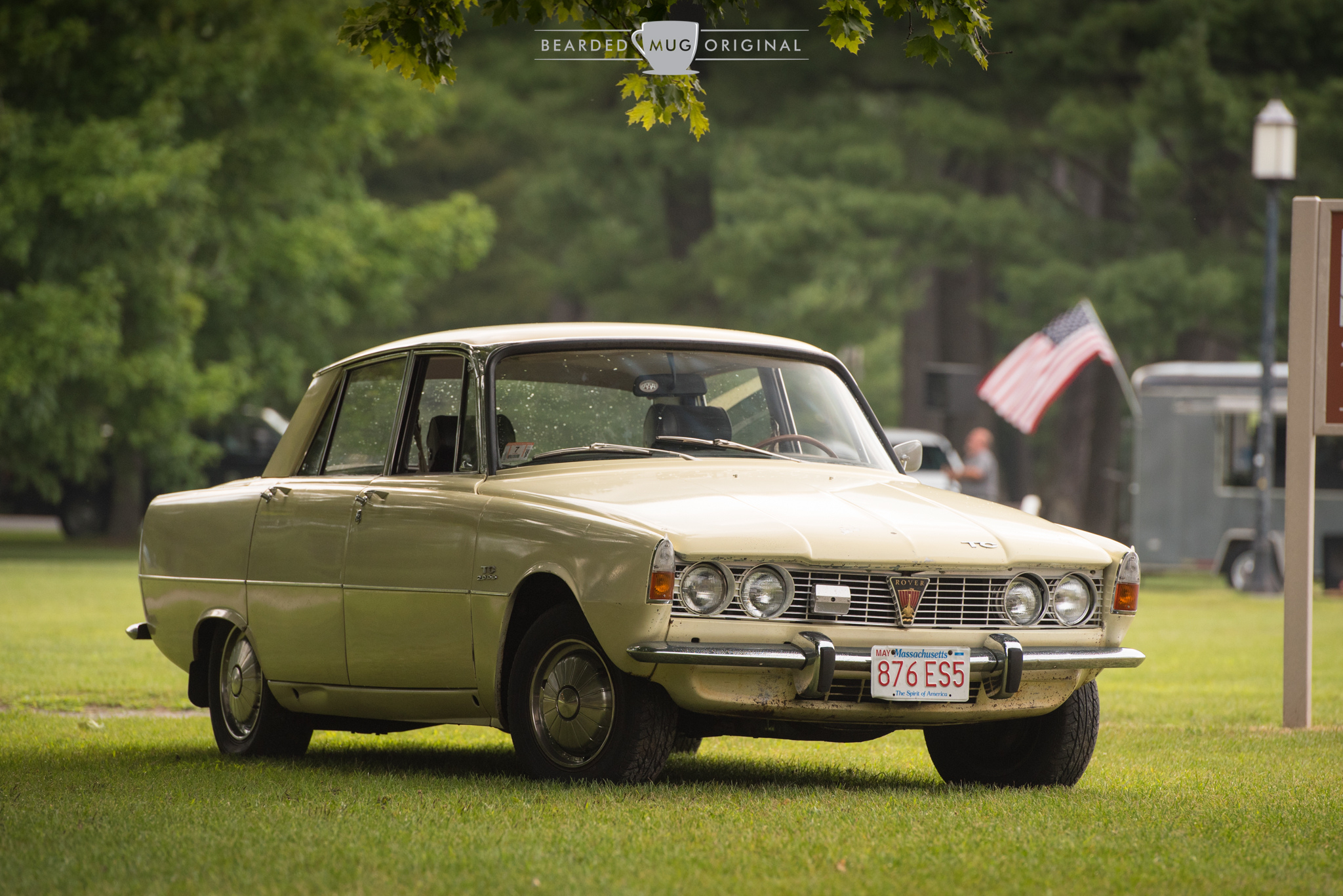Letters from the Editor: The 1968 Rover 2000 TC of editor David LaChance was one of the first cars on the field.