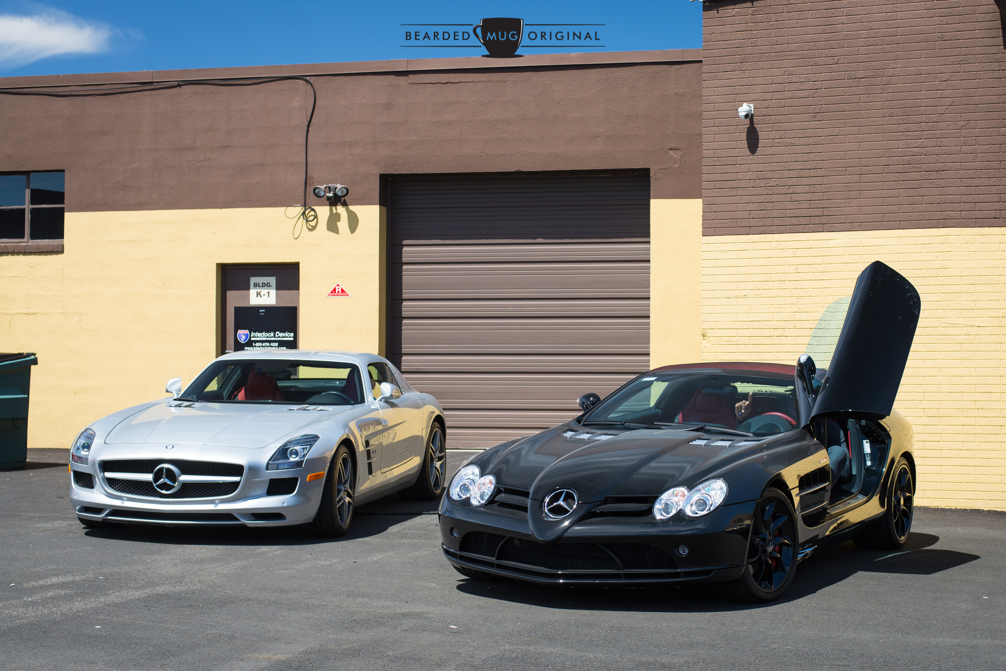 You can't show up in an SLR McLaren, Michael Strahan,and expect people to not take pictures.