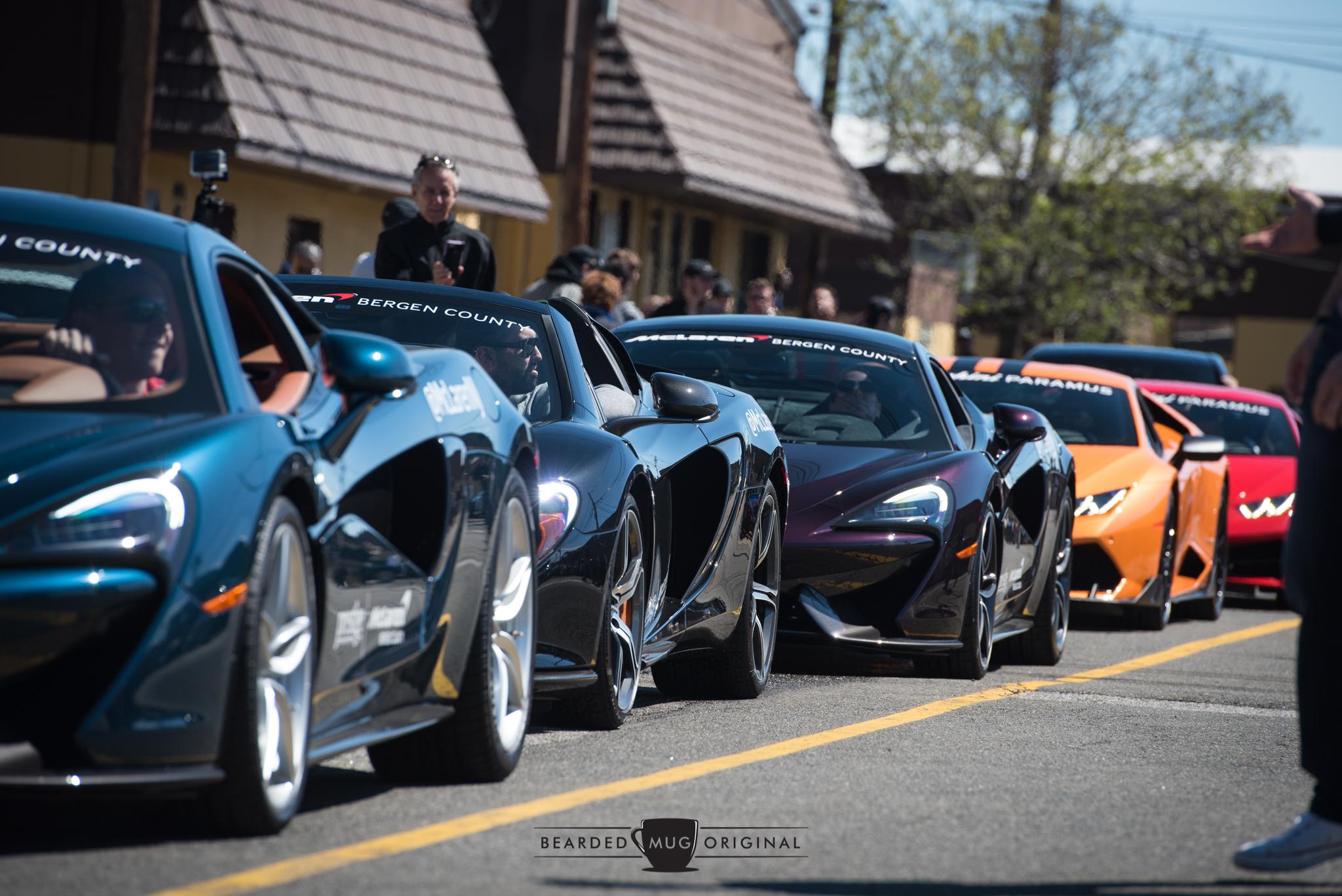McLaren Bergen County & Lamborghini Paramus, both Prestige dealerships, represented their respective brands proudly.