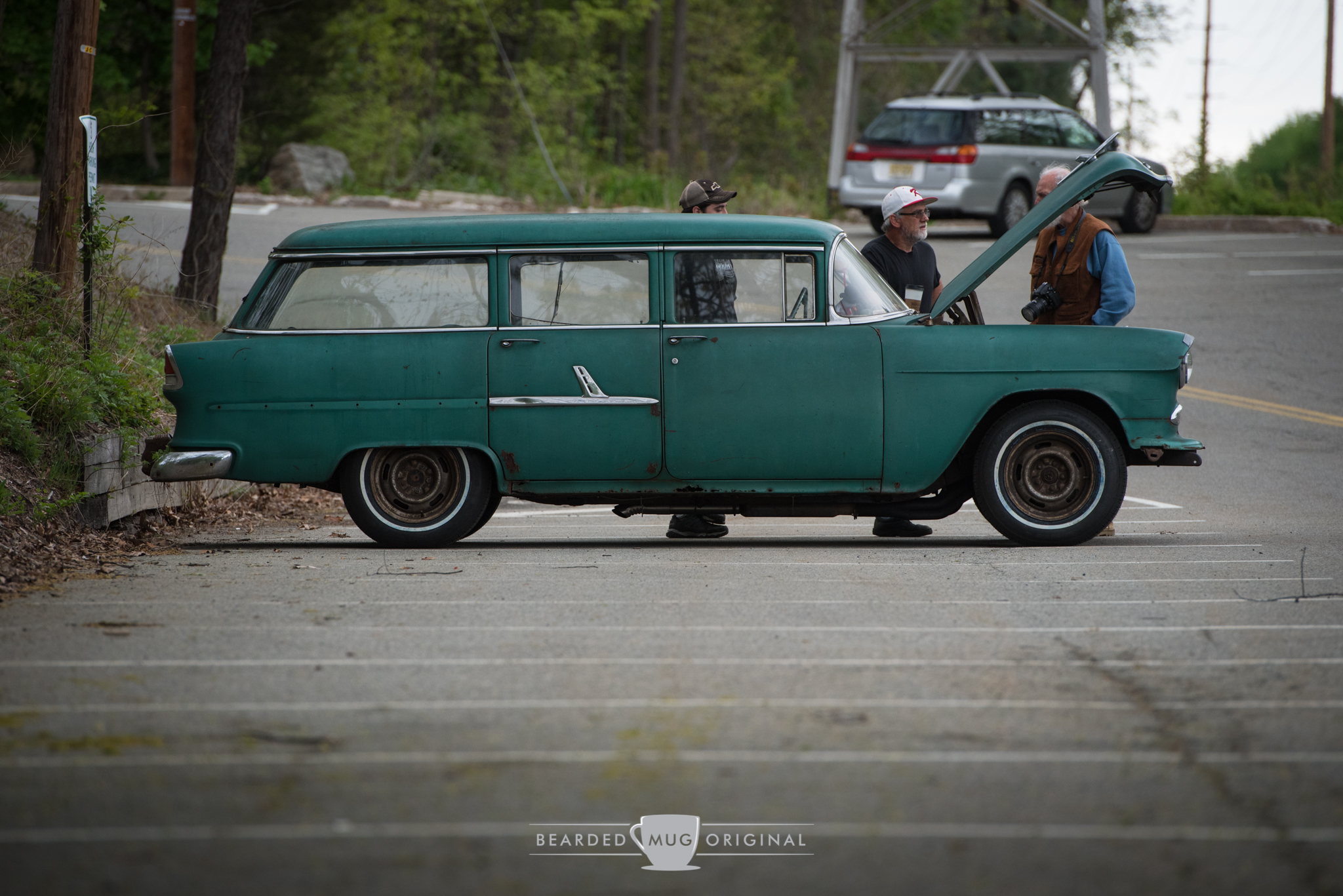 Far past patina - this 1955 Chevrolet 210 wagon was a great representative of a working class work horse.