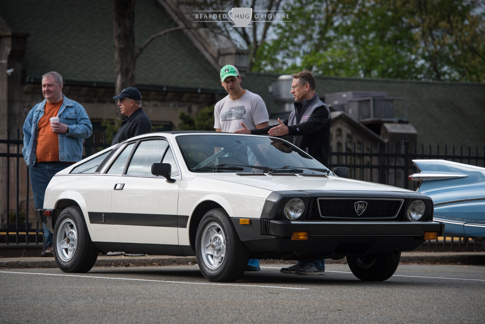 This 1977 Lancia Scorpion was the sole Italian classic in attendance, and it arrived and left under its own power.