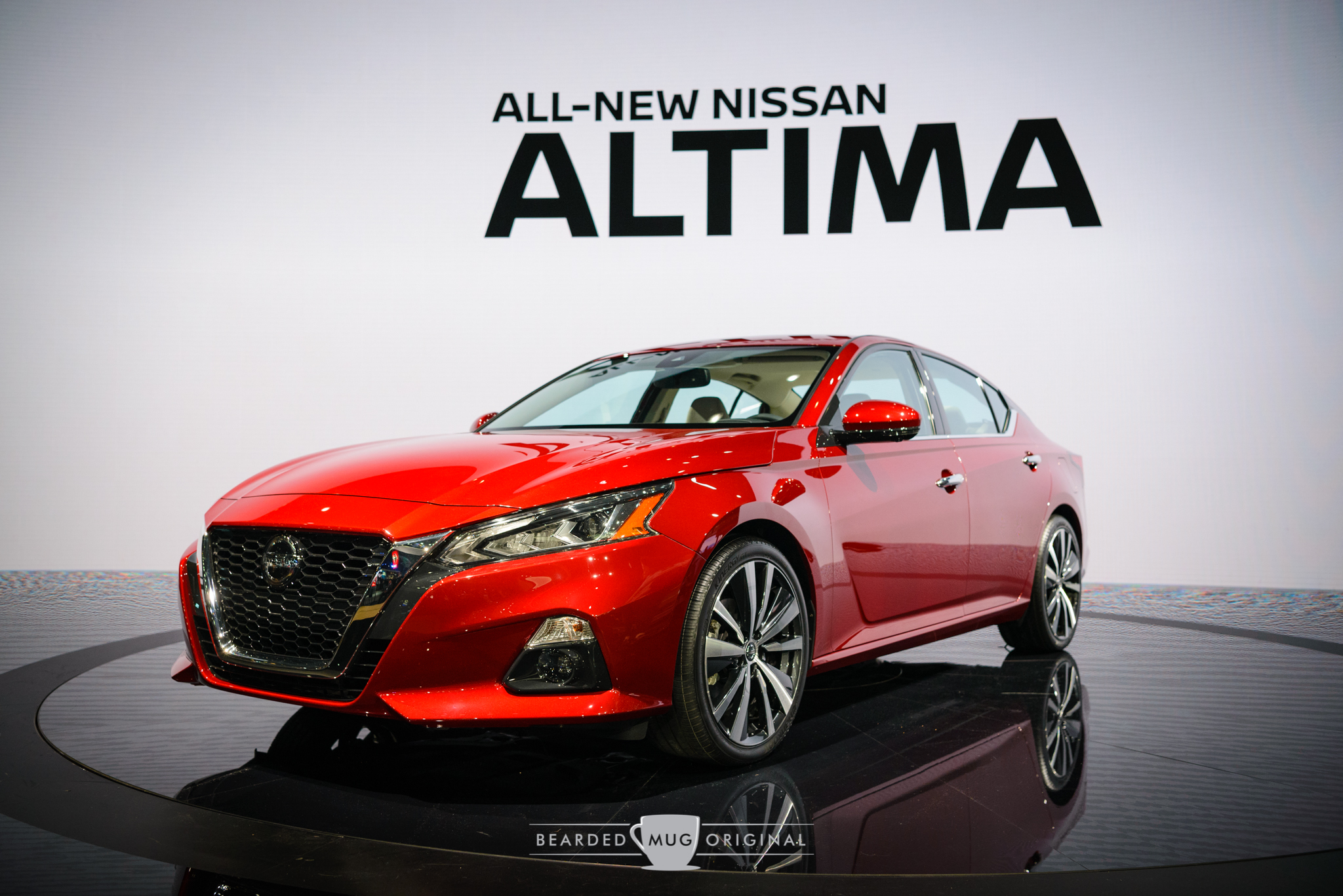 The all-new Nissan Altima that's going to set the segment on its head.