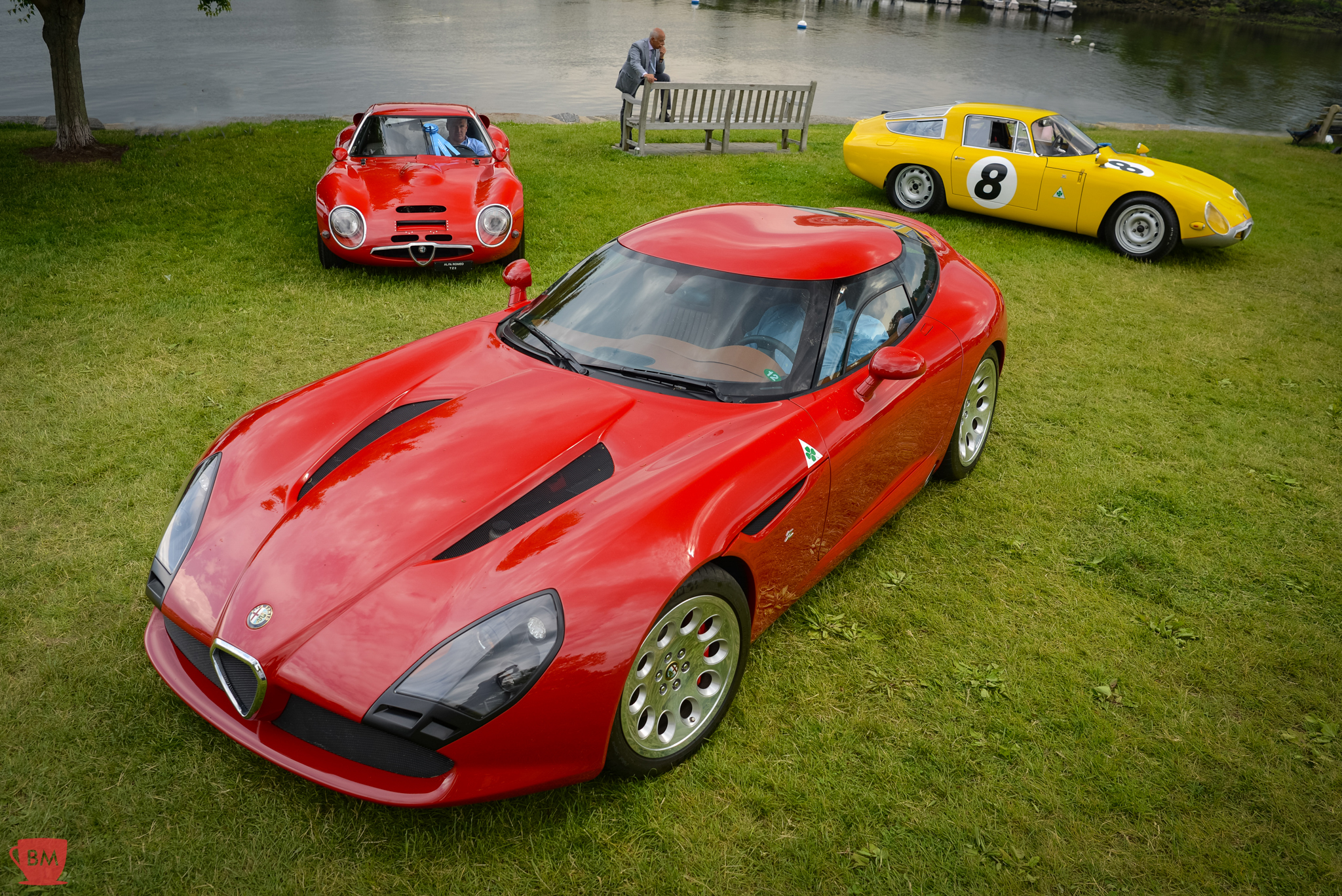 All three TZs…the one image from the Greenwich Concours that really made my weekend complete.