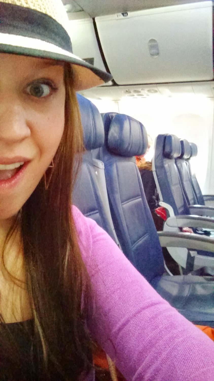 Empty Plane = Row to myself!