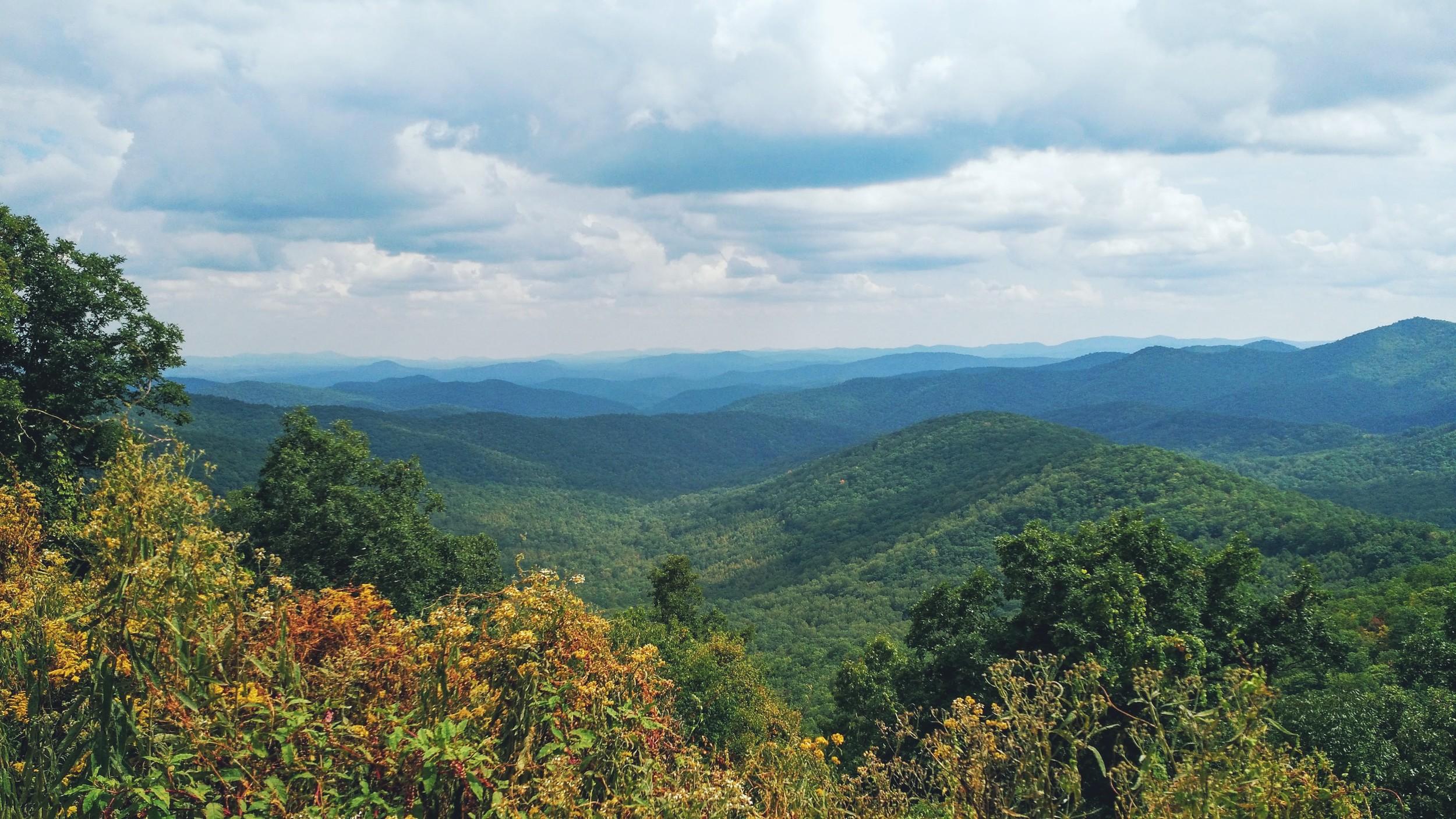 Gorgeous Blue Ridge Mountains!