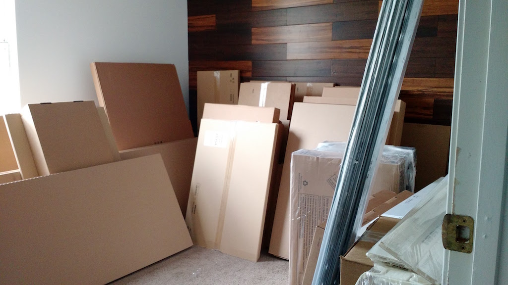 march : the kitchen arrived