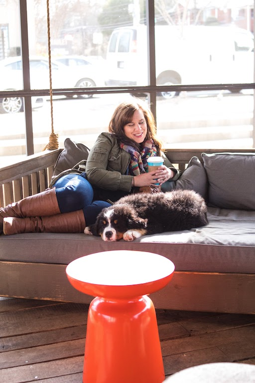 We enjoyed some coffee and a nap -