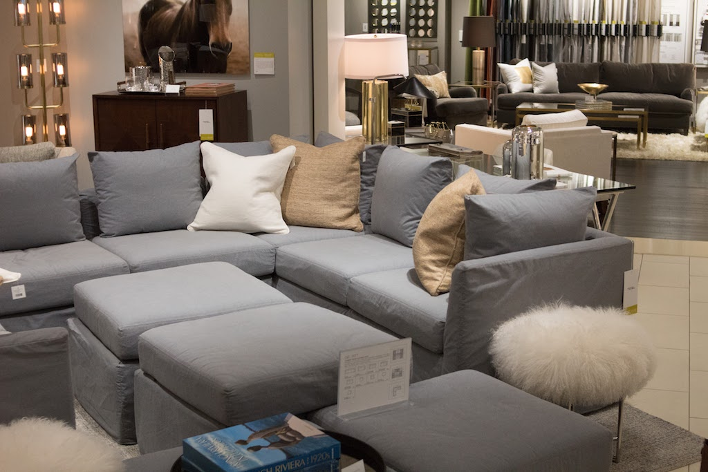 We found the couch of our dreams. It's completely modular! -