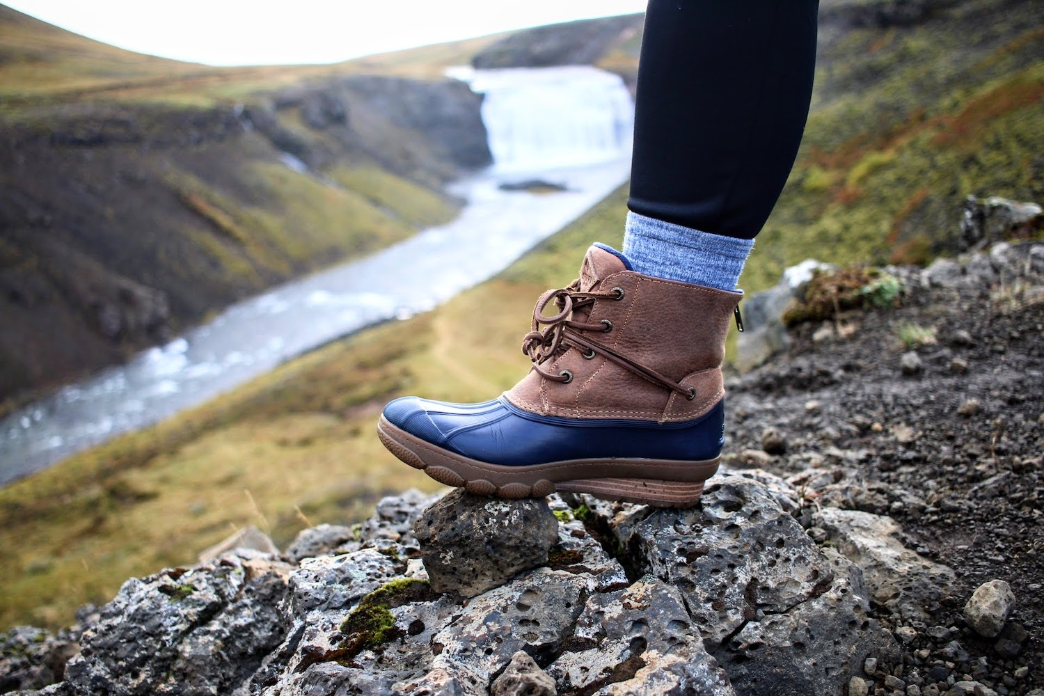 Duck Boots - These are the boots I wore all over Iceland and now all over Nashville. I love them! They are warm, sturdy, and comfortable.