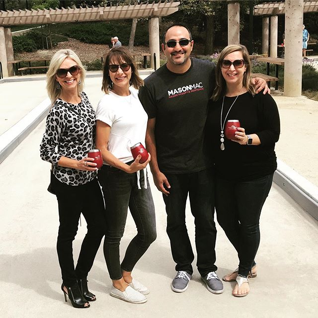 Fun day today playing #bocce and raising funds for the Contra Costa Association of #Realtors Scholarship foundation. We may not have won but I guarantee we had the most fun. #itsforthekids #masonmac #realtor #mortgage #realestate #sartipiteam