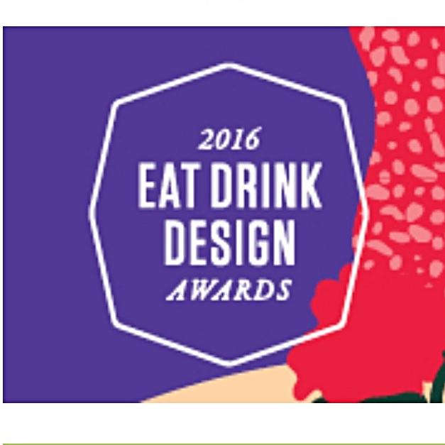 Eat Drink Design Awards 2016