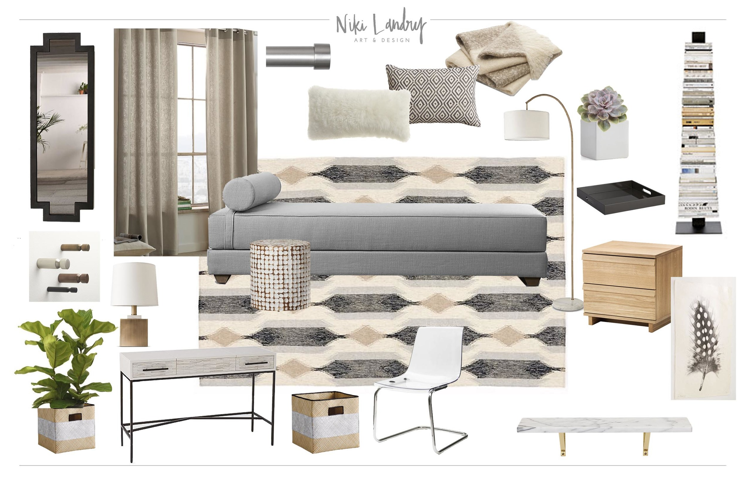 Copy of Guest Bedroom Design