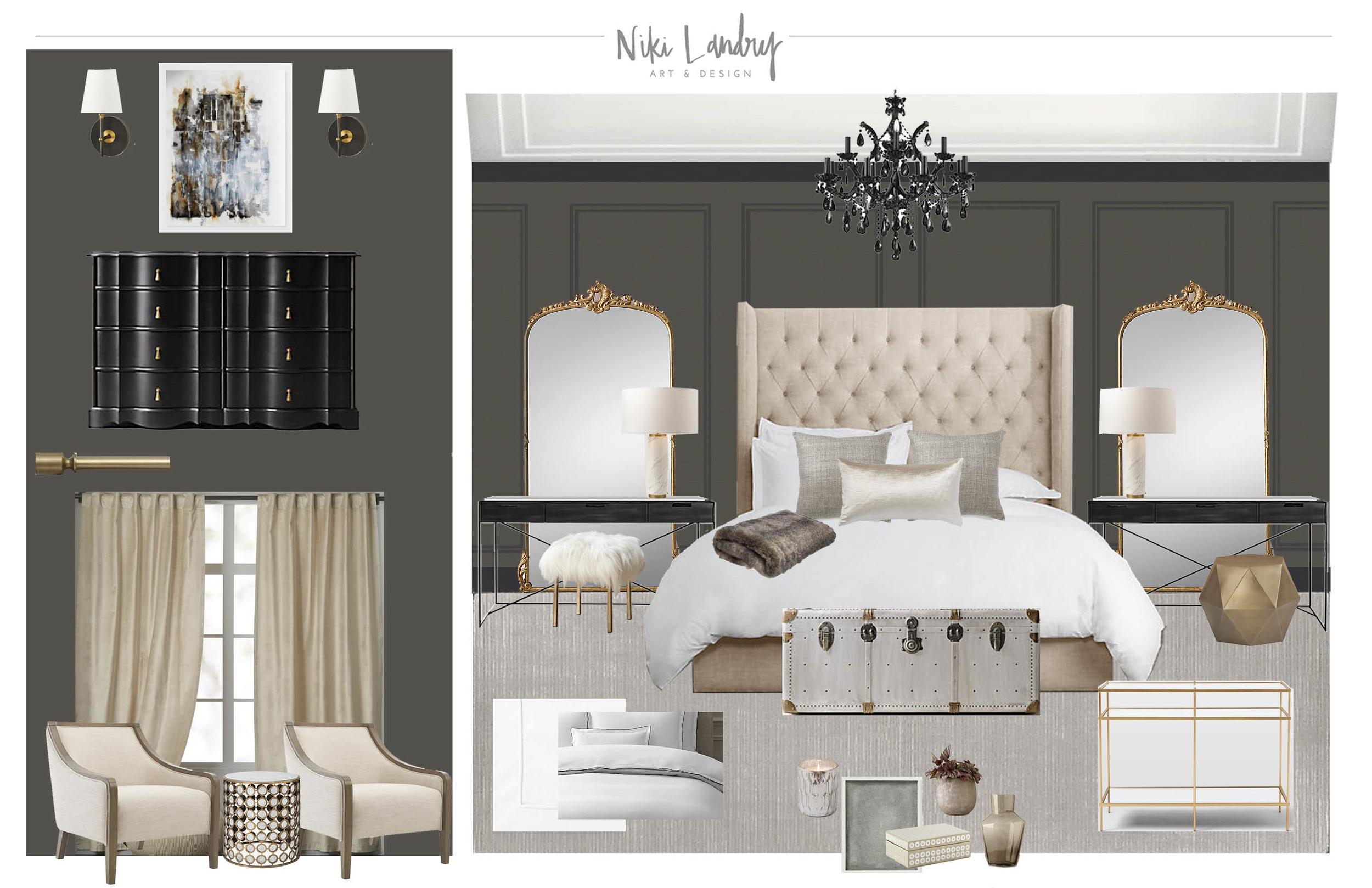 Copy of Master Bedroom E-Design