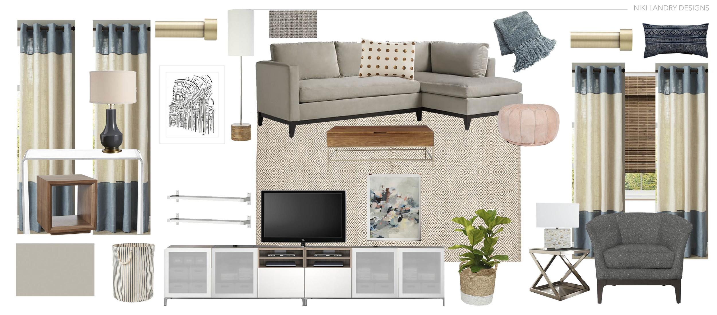 Copy of Living Room Design