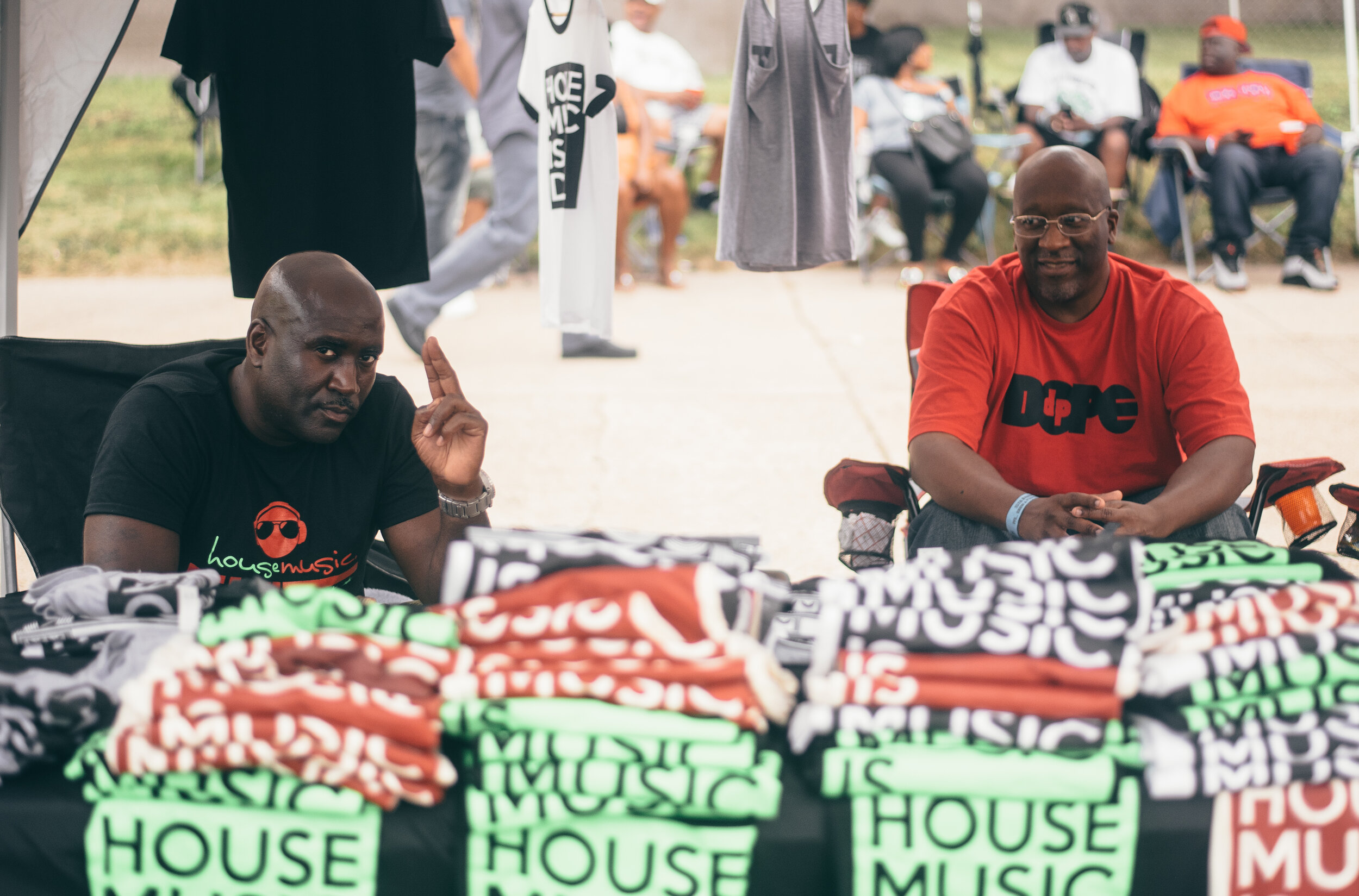 There were numerous local vendors selling merchandise from food to clothing at 3YB House Fest.