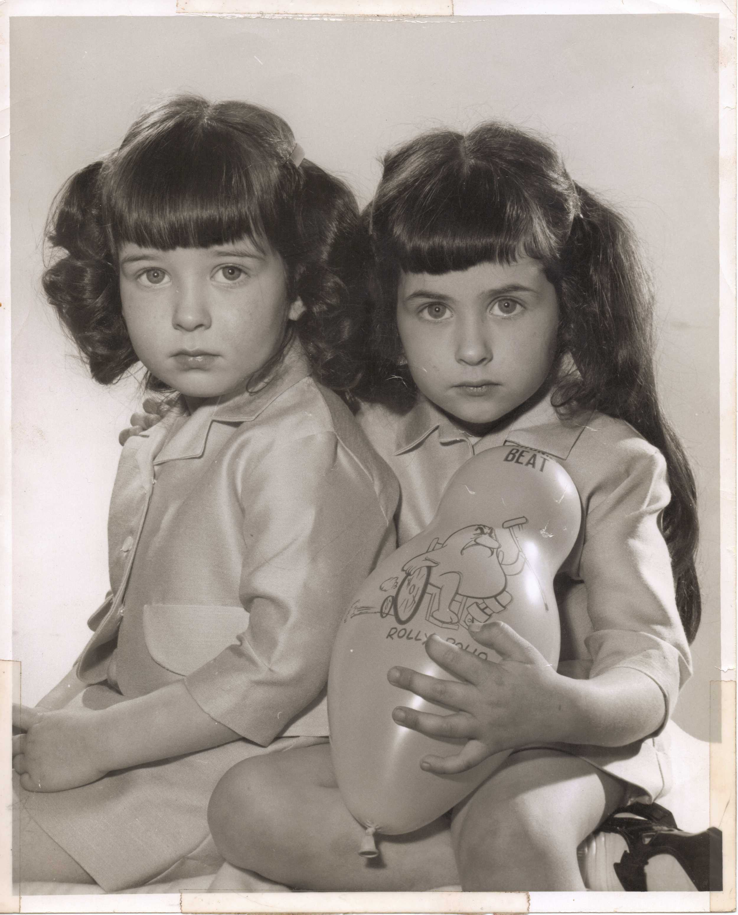 Mari and her sister's Foster Care Photo