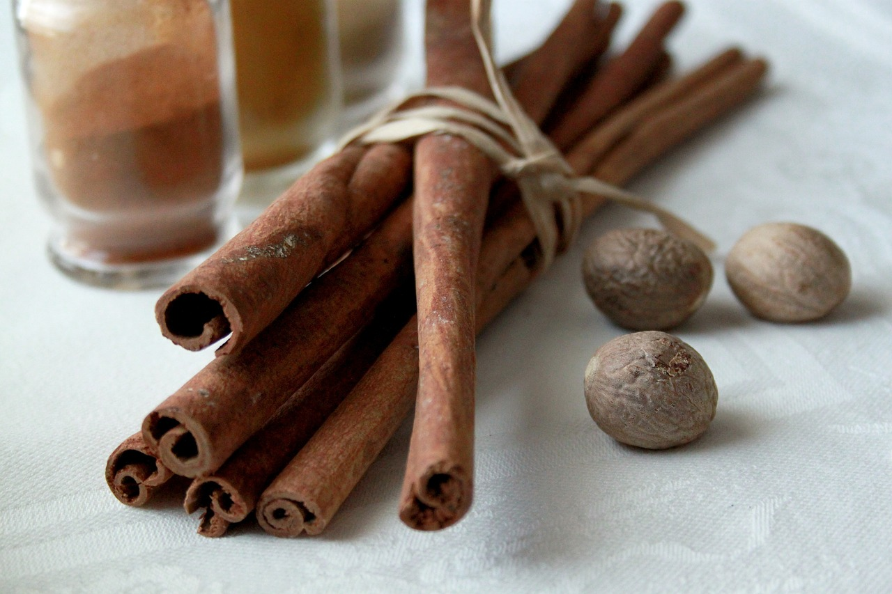 Cinnamon and Nutmeg - YUM!