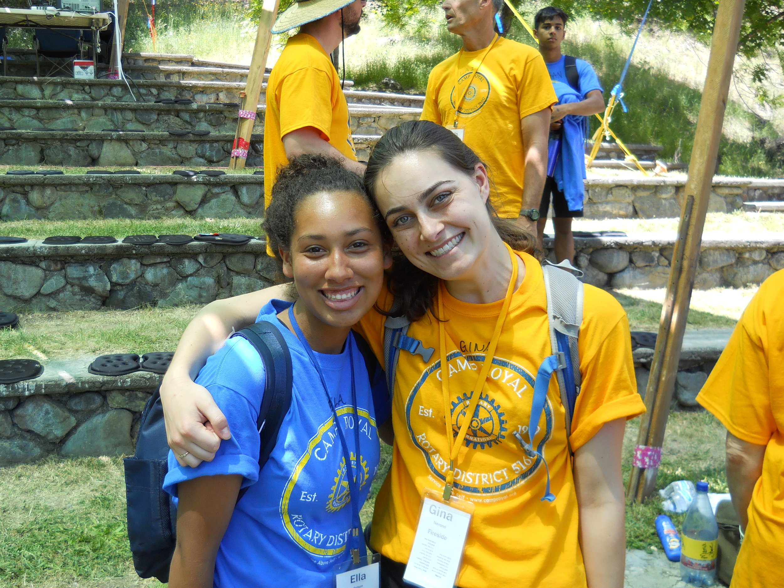 Gina Nerone - FiresideGina's a two-time counselor and also attended camp as a junior in high school. This year Gina touched many campers with sharing her life struggles and let everyone know they are not alone. Her fun loving energy can be felt all over the camp. The board breaking exercise is her favorite thing about camp because she struggled as a camper. The feeling when she broke her board was unforgettable.
