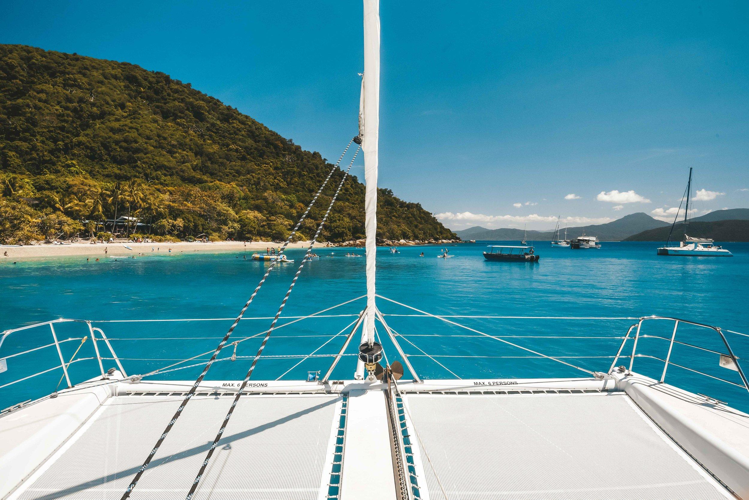 Eye Spy Sailing   Fitzroy Island Queensland