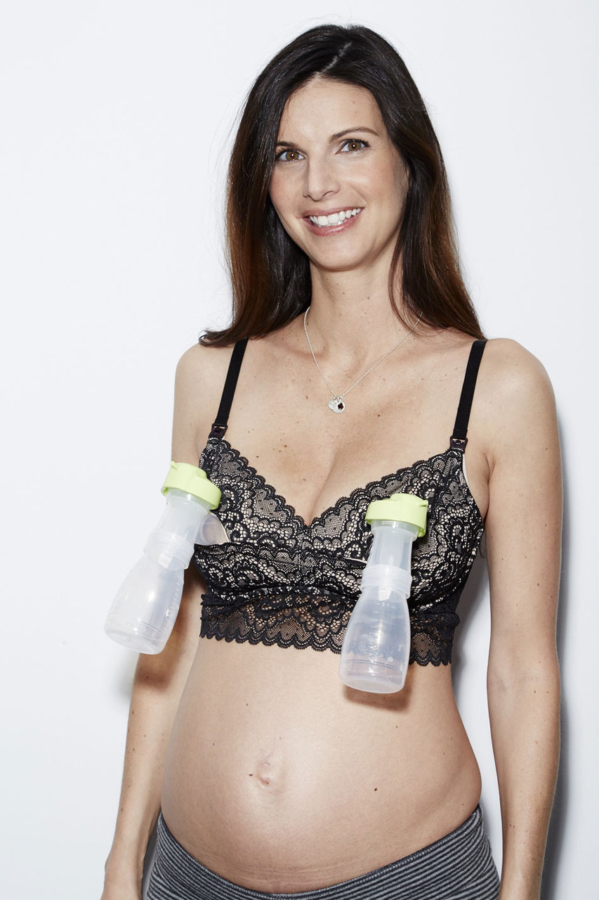 Ayla Luxury Lace Nursing and Handsfree Pumping bra - From $54 at The Dairy Fairy