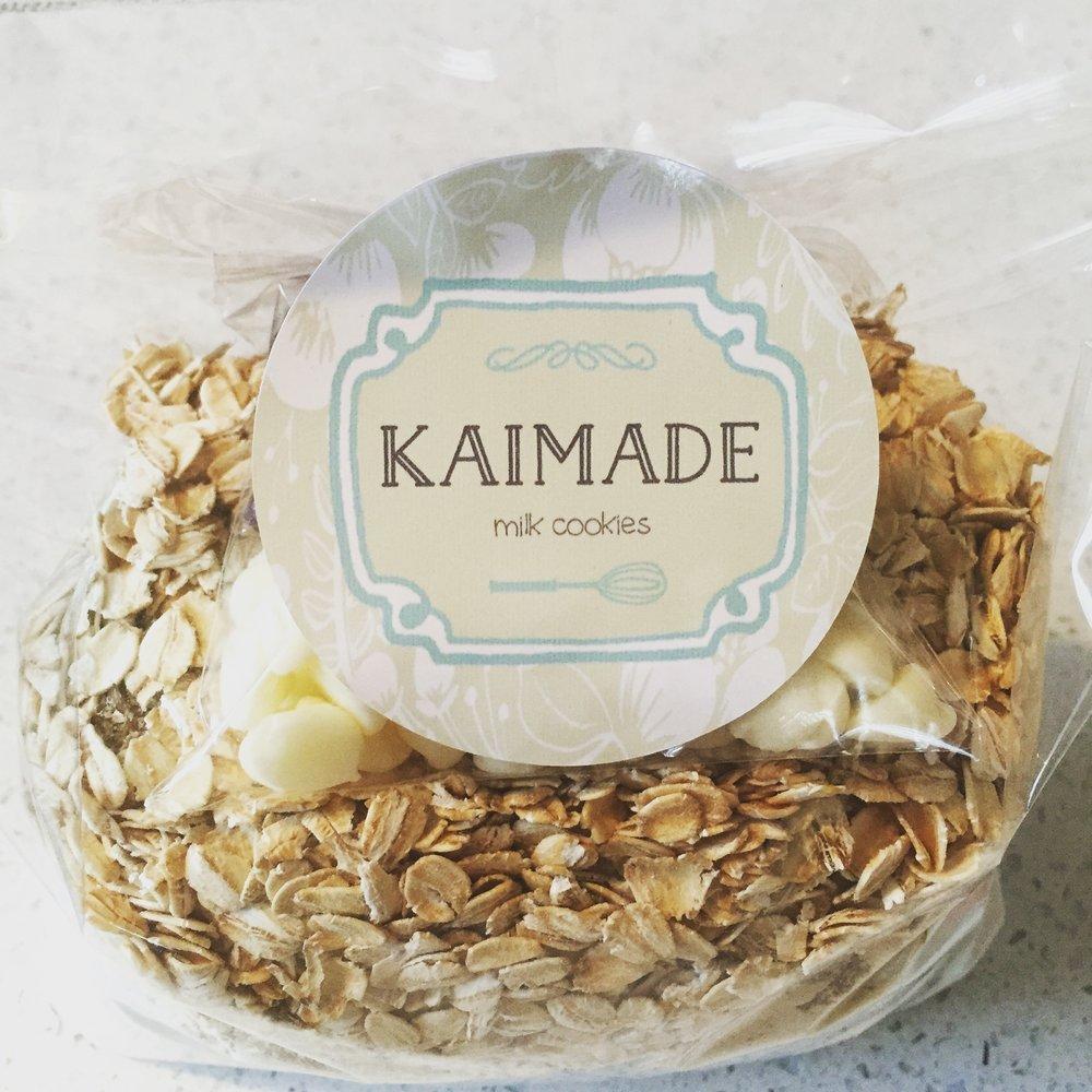 Kaimade Milk Cookie Mixes - From $25 at Kaimademilkcookies.com