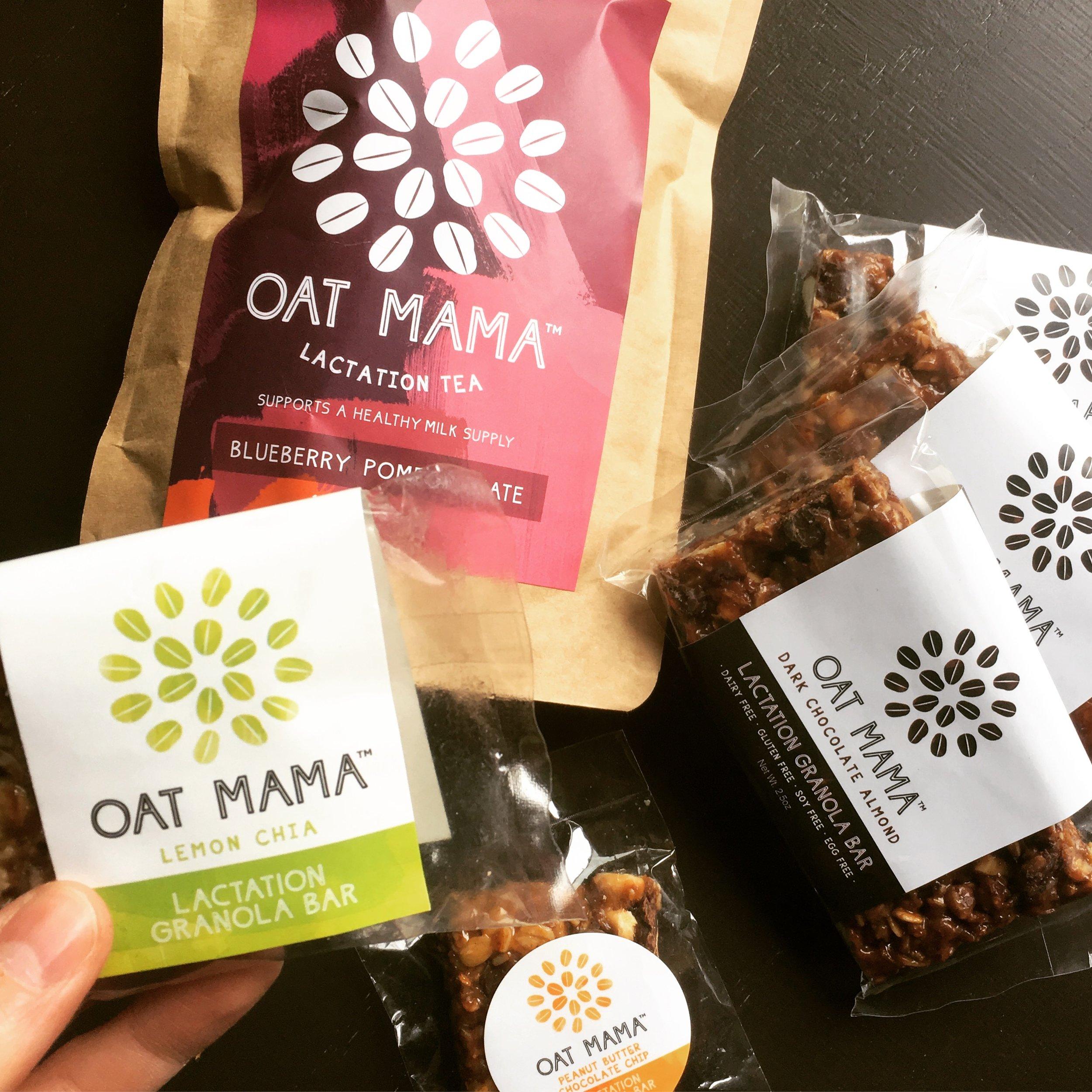 Oat Mama Lactation Granola Bars - From $30 at OatMama.com