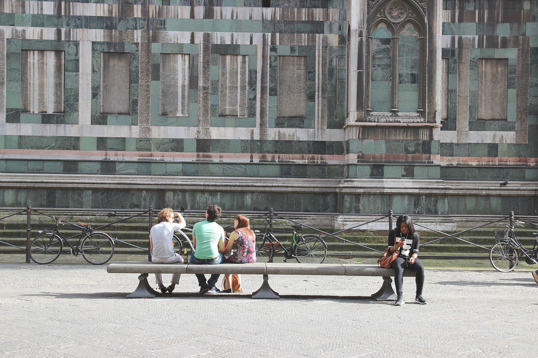 IL Duomo di Firenze  Sitting and trying to comprehend the Cathedral of Santa Maria del Fiore