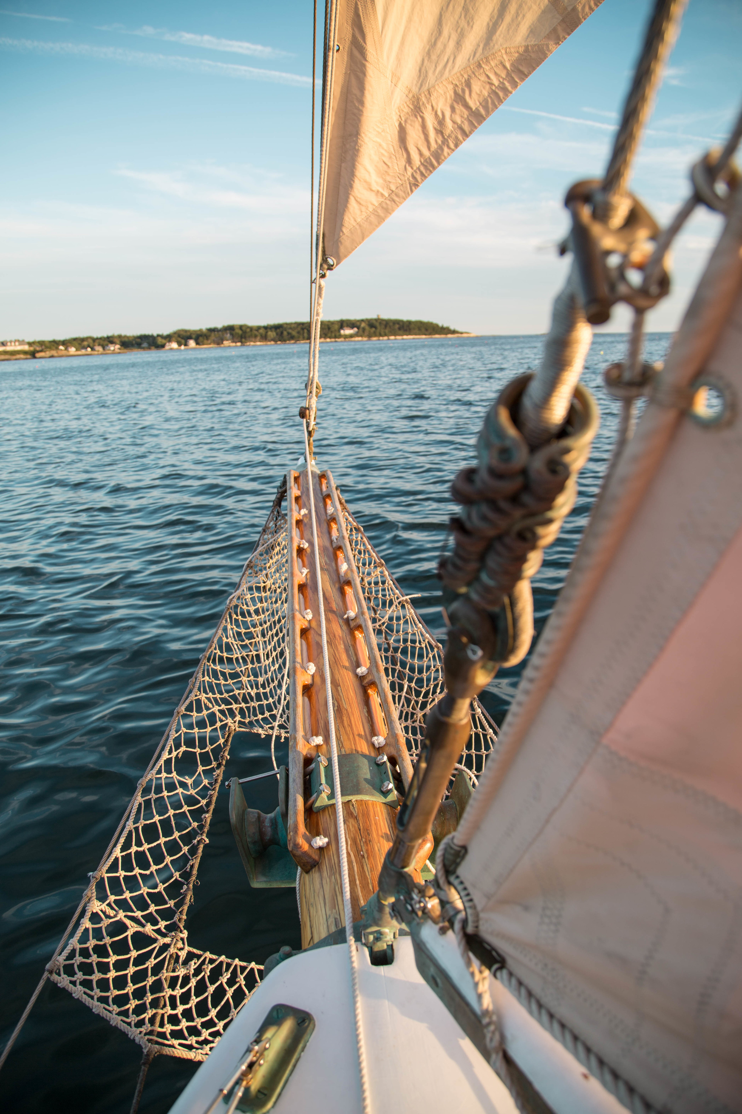 COAST LIFE  Aboard one of the fastest schooners in Casco Bay
