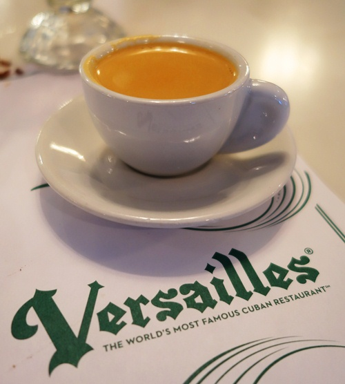 Miami, FL  Cortadito. A South Florida specialty with Cuban roots.