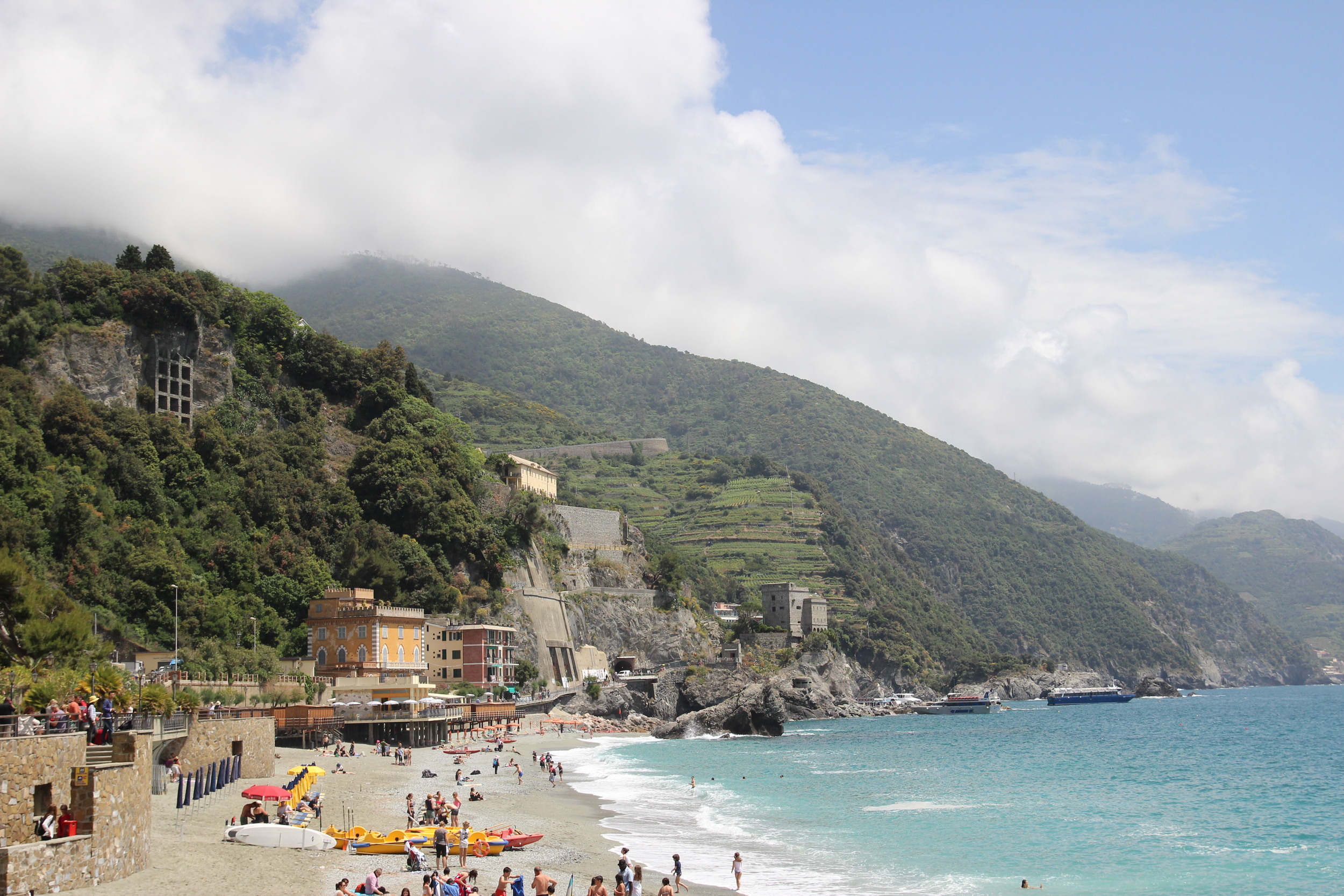 Monterosso al Mare  In Cinque Terre, everything is good