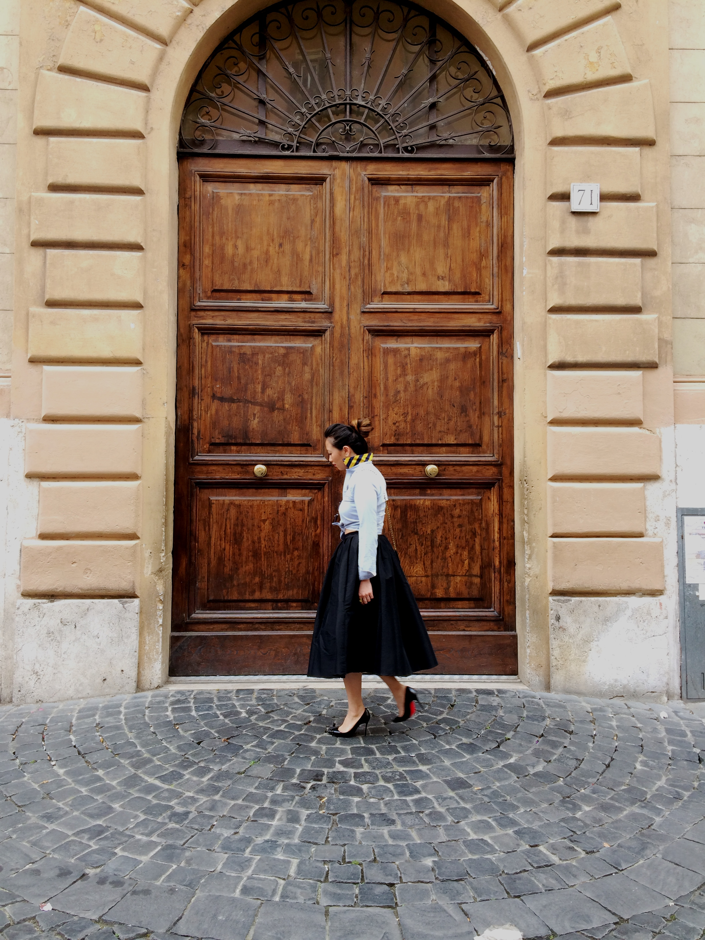 ROME  Impossibly old world and elegant, like its doors